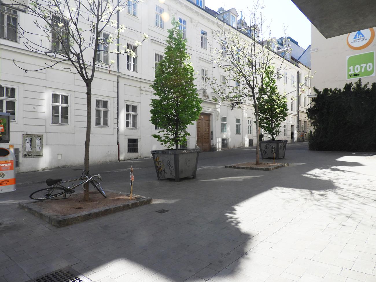 Myrthengasse Wien mit Agenda 21